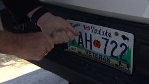 ron parkes veteran plates