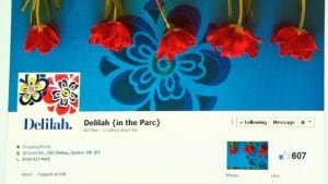 Delilah in the Parc Facebook page (Feb. 27, 2014)