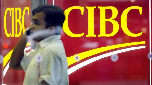 CIBC posted a large jump in its quarterly profit Thursday.