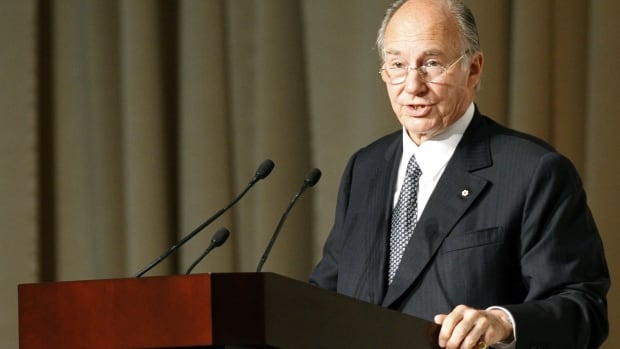 Prince Karim Aga Khan IV, the spiritual leader of Ismaili Muslims around the world, was named an honorary Canadian in 2010.