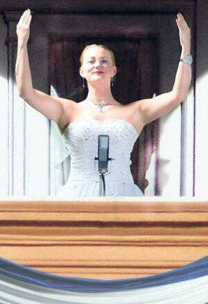 Kelly-Ann Evans as Evita Peron