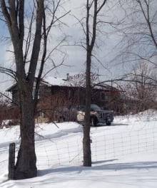Tamworth shooting OPP truck
