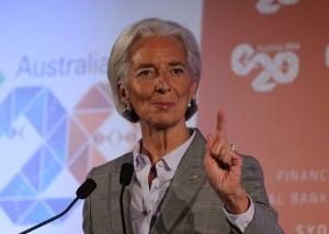 IMF christine Lagard