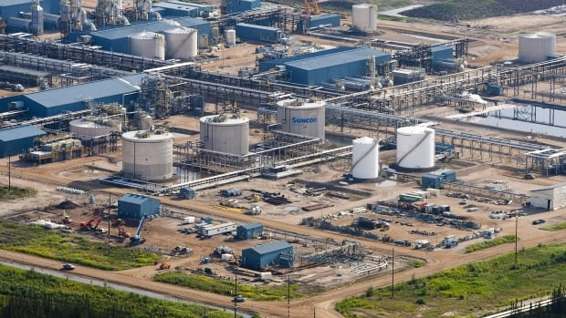 The Suncor Firebag oil sands facility seen near Fort McMurray, Alta. The federal Natural Resources Committee is studying the cross-Canada benefits of the oil and gas industry.