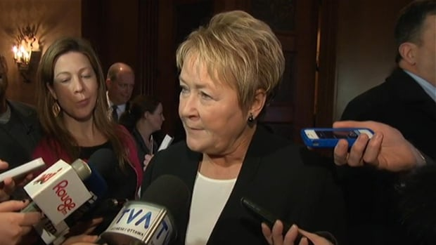 Premier Marois said Quebec's anglophone population is just as important to the Parti Québécois as the province's other founding communities.