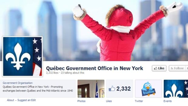 The Office Quebecois de la langue française says language laws don't apply because the office is located outside Quebec.