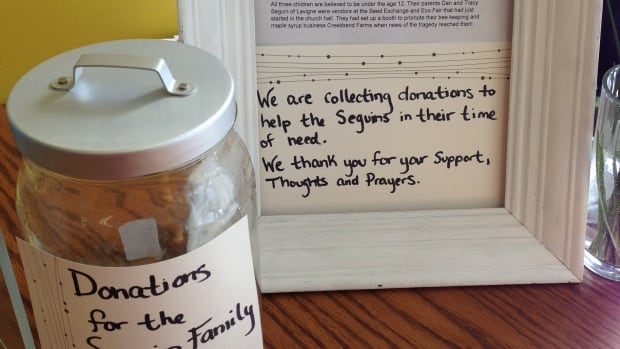 Eat Local Sudbury is collecting donations for the Seguin Family of Lavigne. The family produces honey and maple syrup products. Last week, all three of their children were hit by a car on a North Bay sidewalk.