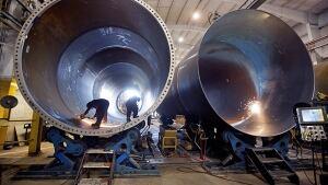 canada factory welder stevensville DMI