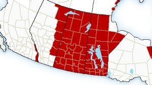 Wind chill warnings across Saskatchewan