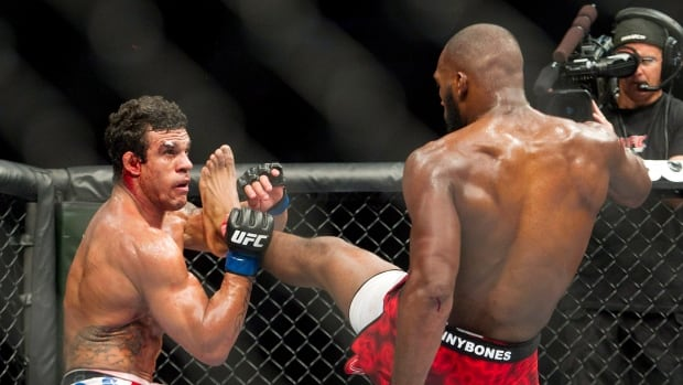Vitor Belfort, left, seen in a losing effort in Toronto in 2012 against Jon Jones, said he will alter his preparation for future bouts.