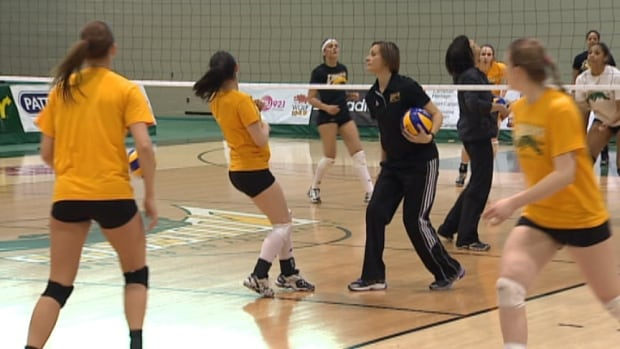 Cougars coach Melanie Stanford was busy this week getting her players ready for the weekend CIS tournament.