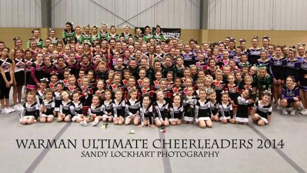 The Warman Ultimate Cheerleaders.