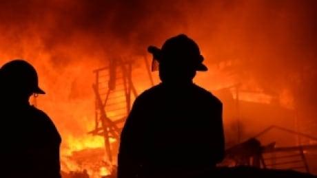 Seniors home fire