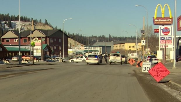 William Lagimodiere, 69, died after being struck by a vehicle while crossing Fourth Avenue in Whitehorse in February 2014.