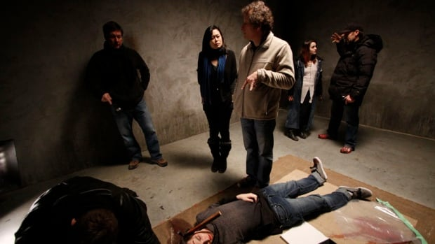 Karen Lam on the set of revenge horror film Evangeline, which debuts at the Vancouver Film Festival March 6.