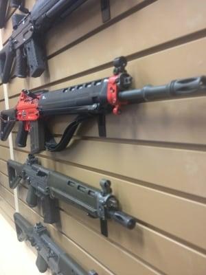 Rifle ban