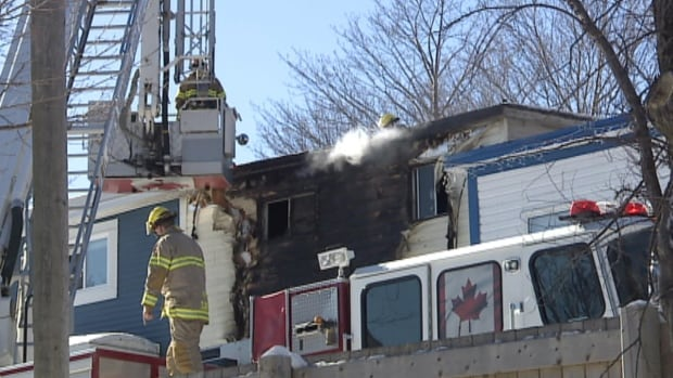 One person died and another was taken to hospital after a fire broke out in a home on McKay Street in St. John's.