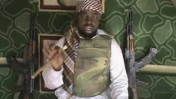 Abubakar Shekau, pictured, is the leader of the Islamic militant group Boko Haram, which has taken responsibility for a series of brazen attacks in north and central Nigeria.
