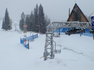 Crystal Mountain ski tower