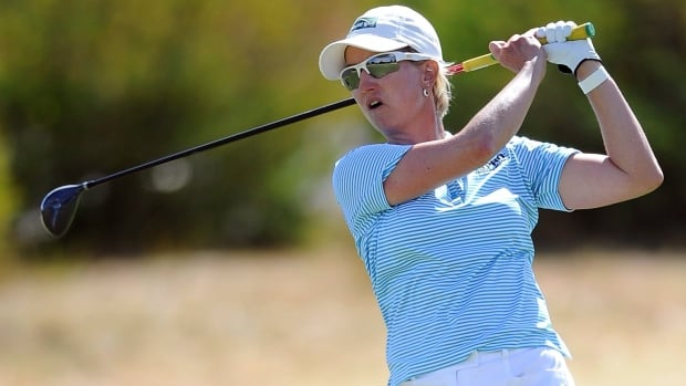 Karrie Webb sits at -11 as she looks to become the first repeat winner at the HSBC Women's Champions.