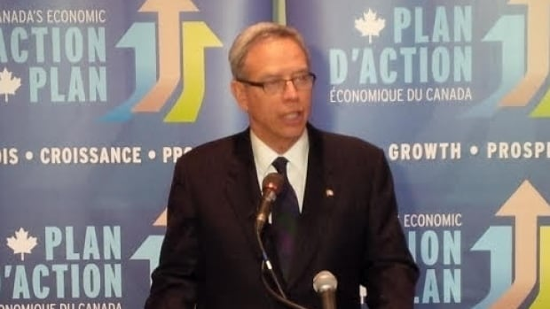 Natural Resources Minister Joe Oliver delivered a keynote address at the Prospectors and Developers Association of Canada Convention and Trade Show in Toronto on March 2.
