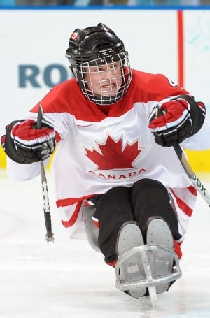 Derek Whitson, sledge hockey
