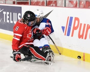 Tyler McGregor, sledge hockey