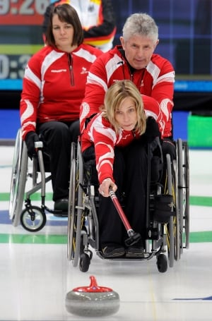 Sonja Gaudet, wheelchair curling