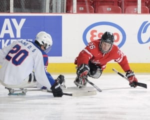 Dominic Larocque, sledge hockey