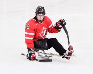 James Gemmell, sledge hockey