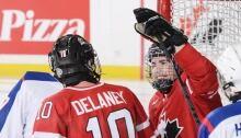Ben Delaney, sledge hockey