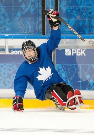 Anthony Gale, sledge hockey