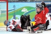 Marc Dorion, sledge hockey