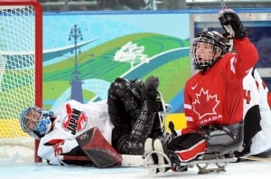 Marc Dorion, sledge hockey