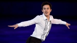Olympic silver medallist Patrick Chan, seen performing at the Sochi Games gala, hasn't yet committed to a future in competitive figure skating.