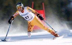 Matt Hallat, para-alpine skiing