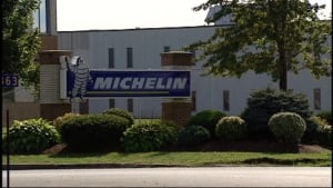 Michelin plant sign