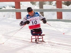 Yves Bourque, nordic skiing
