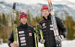 Erik Carleton, para-nordic skiing (guide)