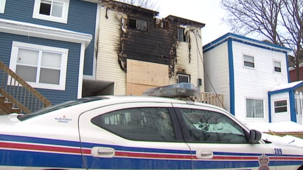 The RNC is investigating a fire that killed one man at this boarding house in downtown St. John's.