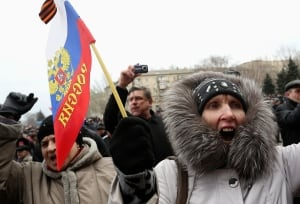 UKRAINE-CRISIS/DONETSK-PROTESTS