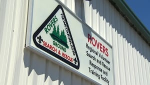 Rovers Search and Rescue sign
