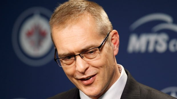 Winnipeg Jets head coach Paul Maurice smiles during a post game press conference following the team's win over the Phoenix Coyotes' in January. Tuesday game marks his 1,100th behind the bench in the NHL, which includes stays in Hartford, Carolina, Toronto and now Winnipeg.