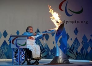 Paralympic-flame