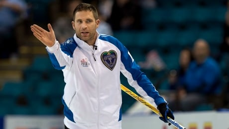 John Morris strengthens hold on top spot at The Brier
