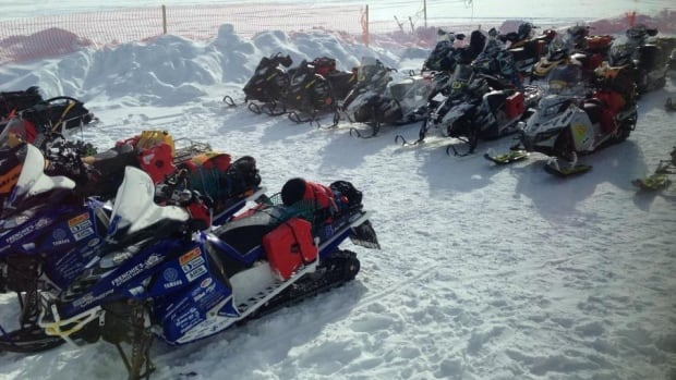 Some people are concerned about the safety of speeding snowmobile racers in this year's Cain's Quest race.