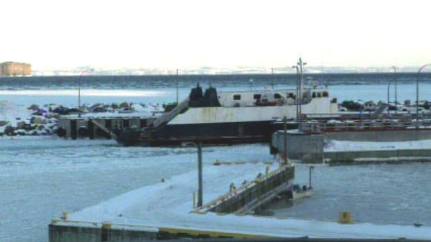Thick ice has been causing problems for Bell Island ferries to cross the Tickle.