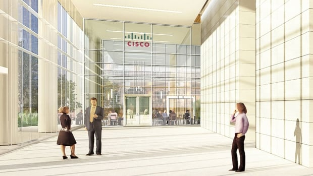 Cisco Systems Inc., the world's largest maker of computer networking gear, plans a $100-million innovation hub in Toronto dedicated to the 'internet of everything.'