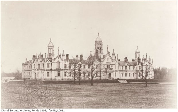 Trinity College in 1856