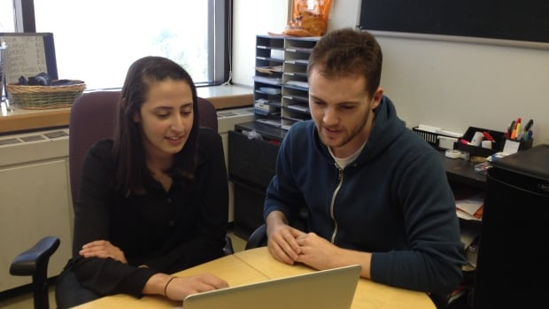 Norine AwadAllah and Mitch Brown are both Carleton University accounting students who have permanent jobs set up for when they graduate later this year.